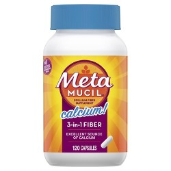 Metamucil Multi-Health Psyllium Fiber + Calcium Capsule 120ct