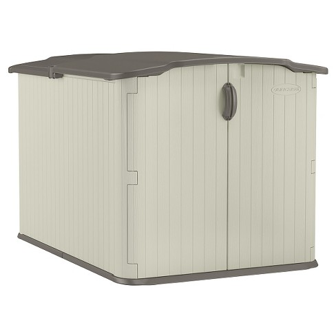 Resin Glidetop Storage Shed Soft Taupe - Suncast - image 1 of 3