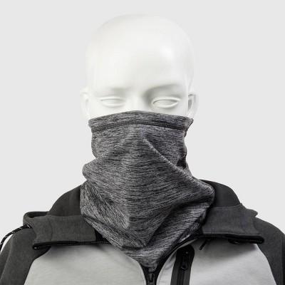 Isotoner Men's Gaiter Scarves - Gray One Size