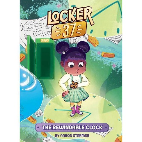 The Rewindable Clock #2 - (Locker 37) by  Aaron Starmer (Hardcover) - image 1 of 1