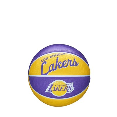 NBA Los Angeles Lakers Retro Mini Basketball