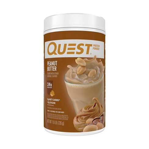 Quest Protein Powder - Peanut Butter - 25.6oz - image 1 of 4