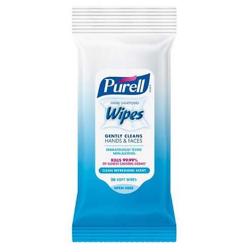 PURELL Hand Sanitizing Wipes Clean Refreshing Scent - 20ct/6pk