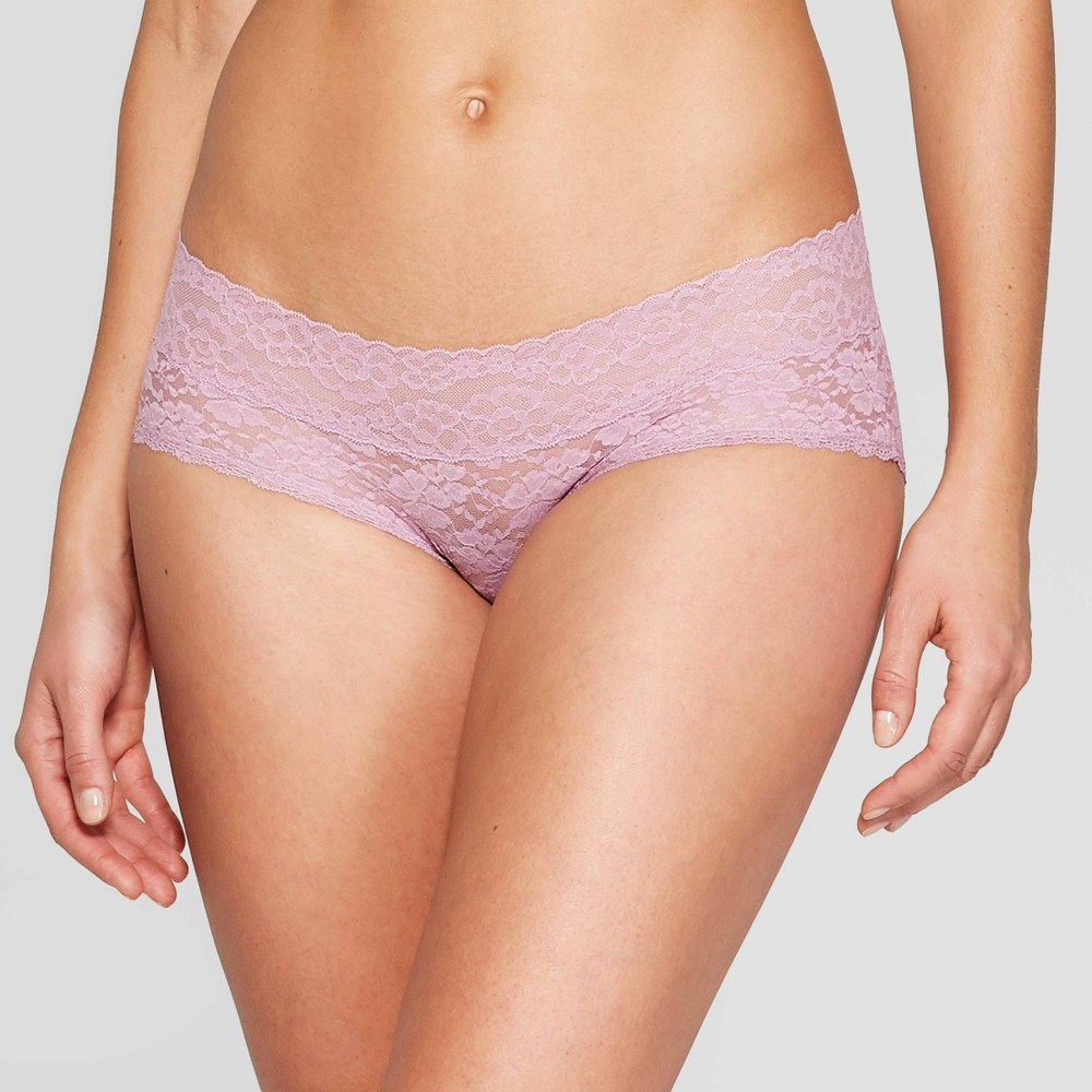 606f60c8e348 Womens All Over Lace Hipster Auden Dancing Orchid L