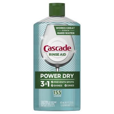 Cascade Power Dry Dishwasher Rinse Aid - 16 fl oz