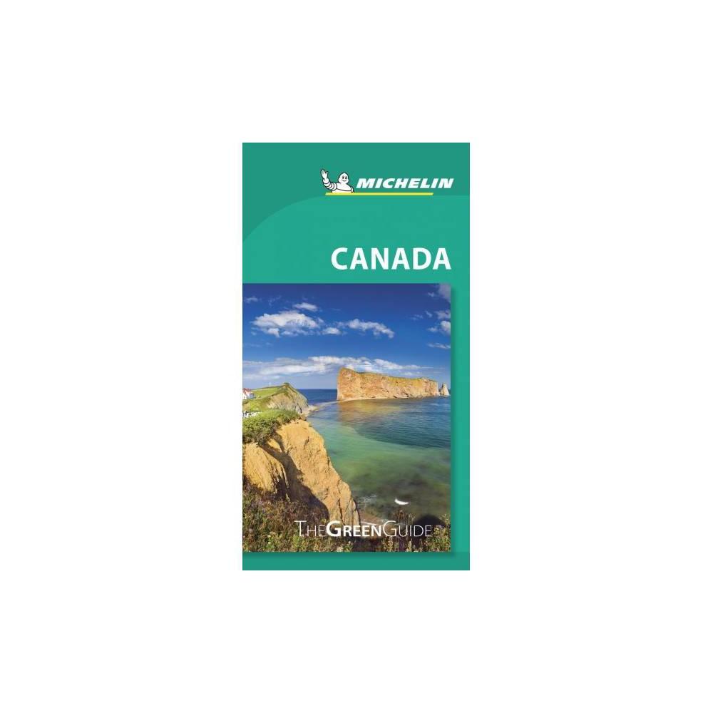 Michelin Green Guide Canada - (Michelin Green Guide Canada) (Paperback)