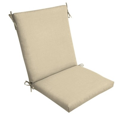 Leala Texture Clean Finish Outdoor Chair Cushion Tan - Arden Selections