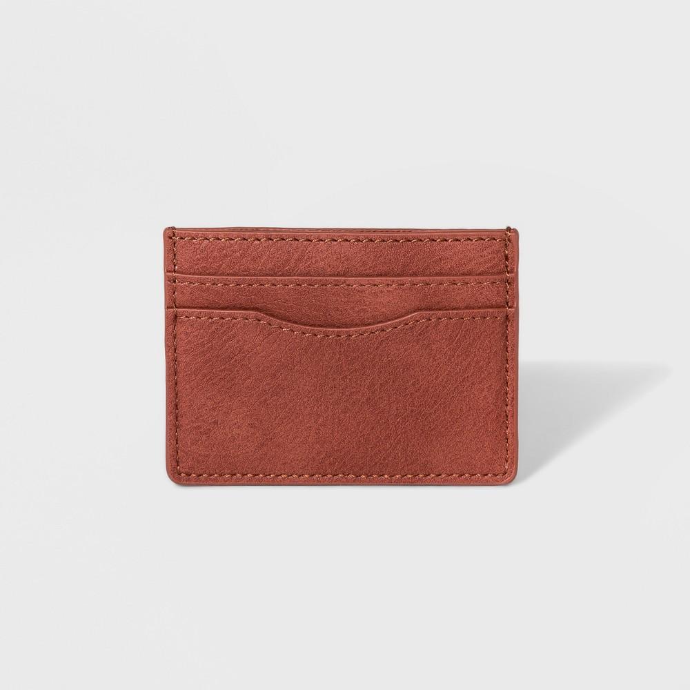 Women's Slip Card Case - Universal Thread Rust (Red)