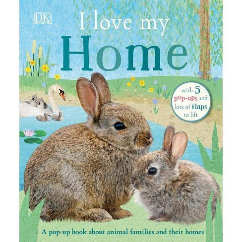 I Love My Home - (Board_book) - image 1 of 1