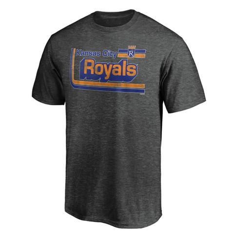 MLB Kansas City Royals Men's Short Sleeve Gray T-Shirt - image 1 of 3