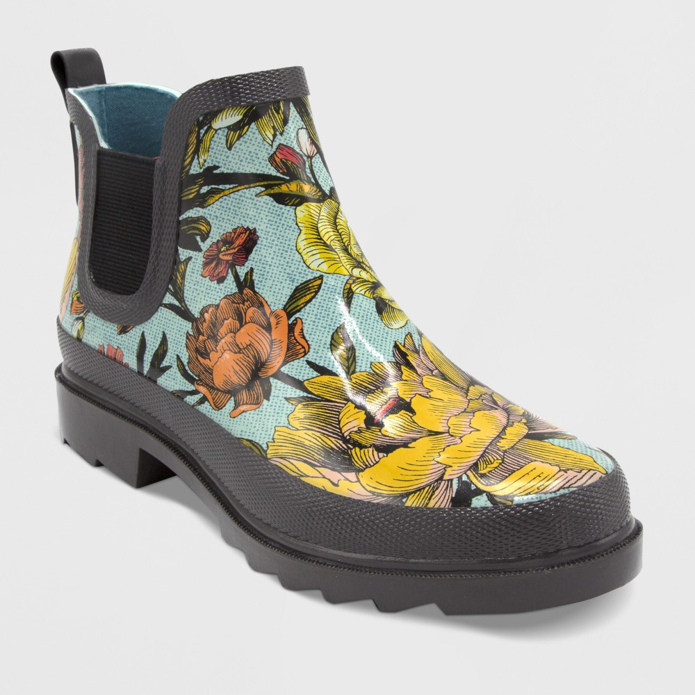 Size 7 Garden Ankle Boot - Apple Blossom - Threshold