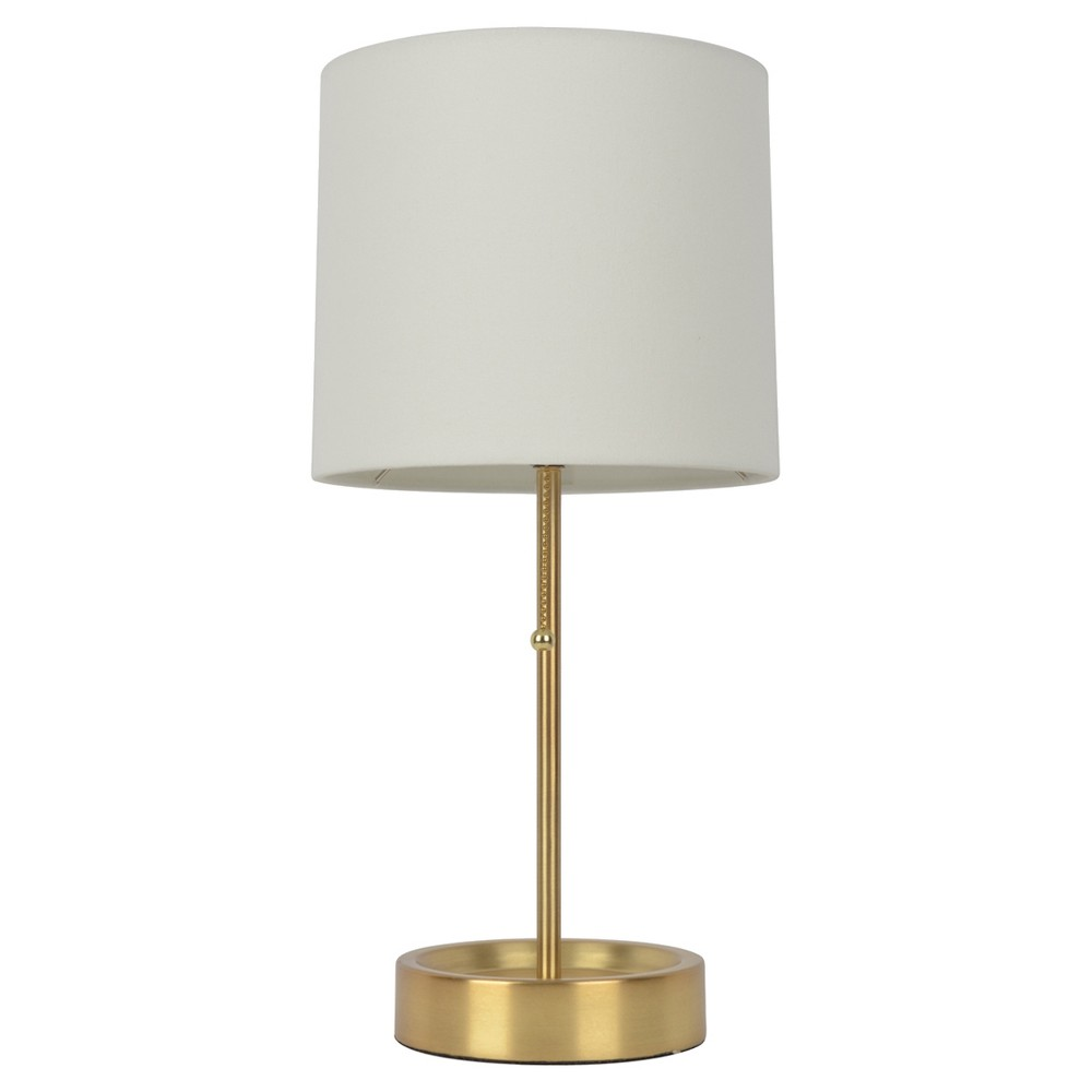 Stick Table Lamp with Single Outlet Brass Finish (Lamp Only) - Room Essentials