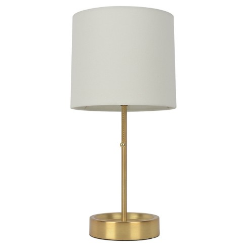 Stick Table Lamp with Single Outlet Brass Finish (Lamp Only) - Room Essentials™ - image 1 of 2