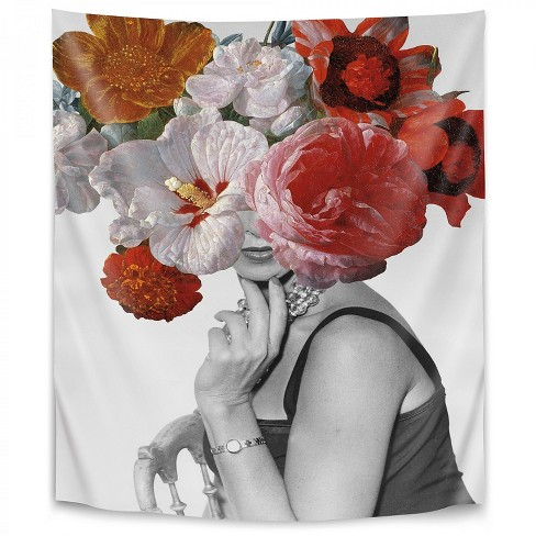 Americanflat Garden Party Ii By Wild Apple 88 X104 Wall Tapestry Target