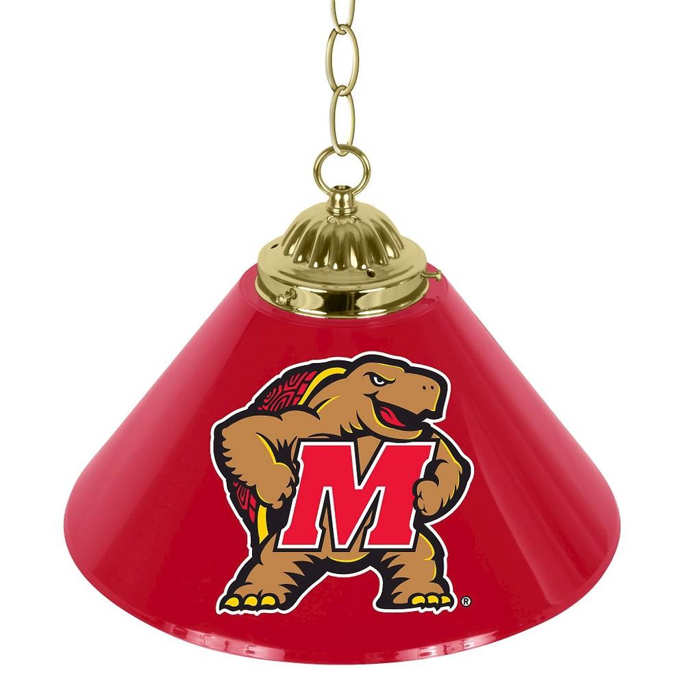 NCAA Maryland Terrapins Single Shade Bar Lamp - 14