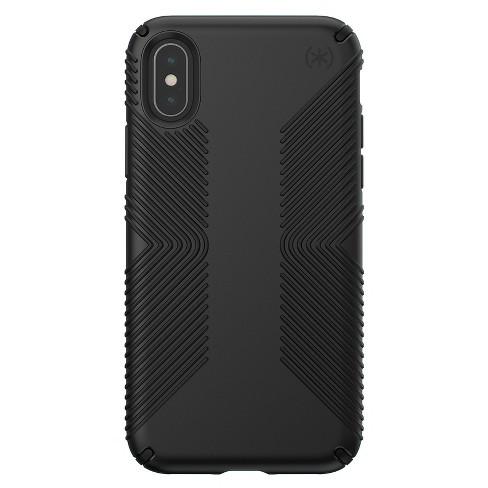 Speck Apple iPhone X/XS Presidio Grip Case - Black - image 1 of 4