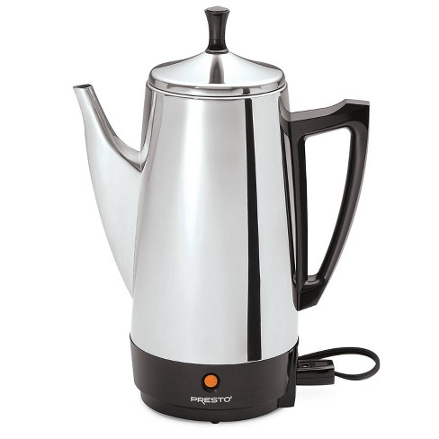 Presto Coffee Maker - Stainless Steel 02811 - image 1 of 4