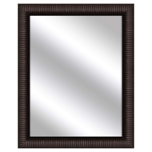 Decorative Wall Mirror PTM Images Espresso Brown - image 1 of 1