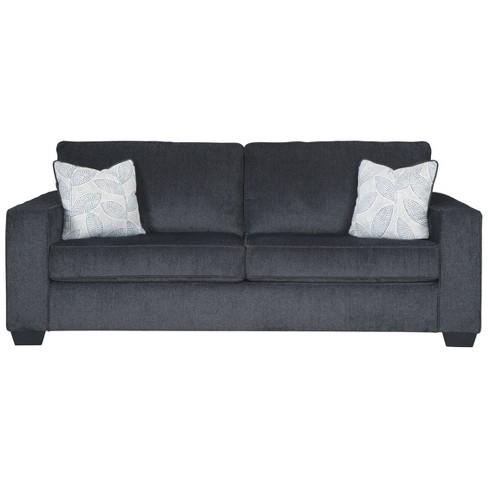 Tremendous Altari Queen Sofa Sleeper Slate Gray Signature Design By Ashley Download Free Architecture Designs Terchretrmadebymaigaardcom