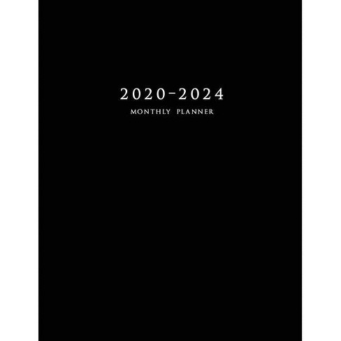 2020-2024 Monthly Planner - by  Edward Planners (Paperback) - image 1 of 1