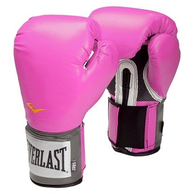 Everlast Premium Synthetic Leather Sparring Gloves - Pink