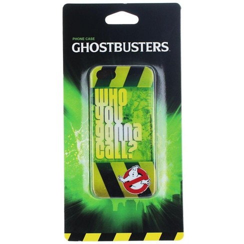 """Nerd Block Ghostbusters """"Who You  Gonna Call"""" iPhone 5/5s/se Case - image 1 of 2"""