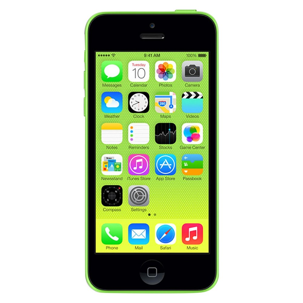 Apple iPhone 5c Certified Pre-Owned (GSM Unlocked) 32GB Smartphone - Green