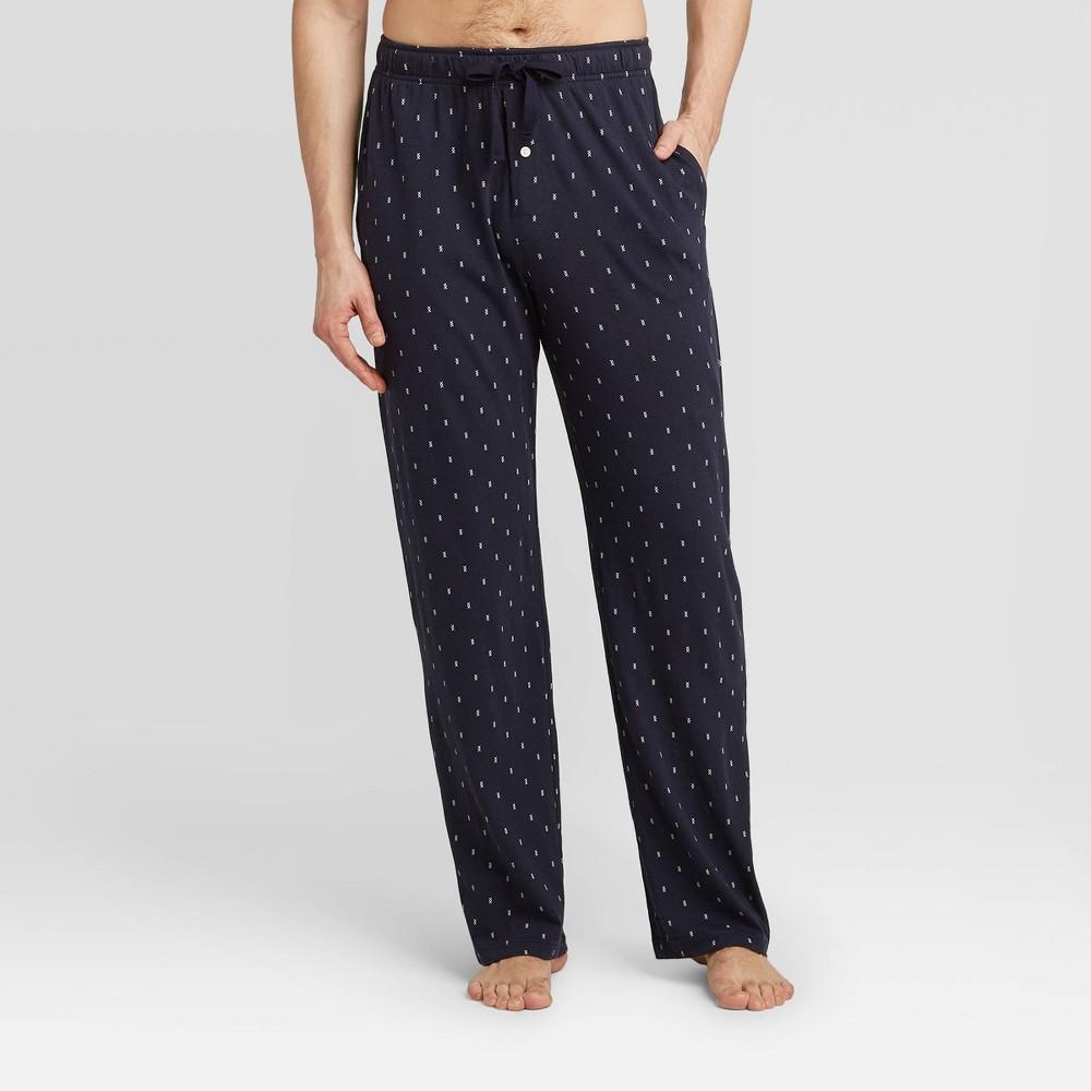 Image of Men's Knit Pajama Pants - Goodfellow & Co Blue 2XL, Men's