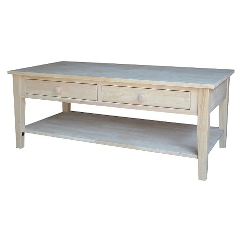 Spencer Coffee Table - International Concepts - image 1 of 7