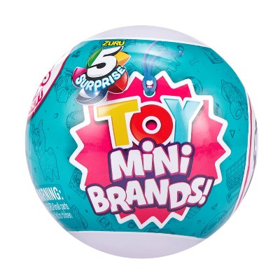5 Surprise Toy Mini Brands! Surprise Ball - Series 1