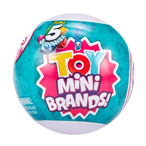 5 Surprise Toy Mini Brands! Surprise Ball - Series 1 - image 1 of 4