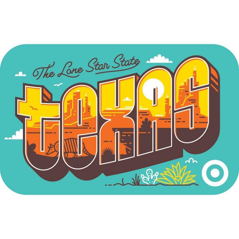 Texas Postcard 10 Giftcard