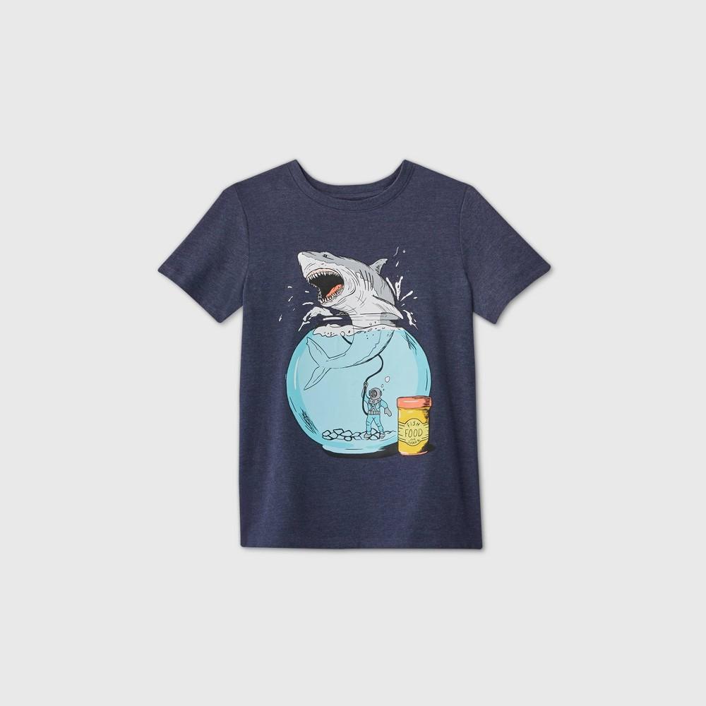 Boys 39 Short Sleeve 39 Shark Bowl 39 Graphic T Shirt Cat 38 Jack 8482 Navy Xxl
