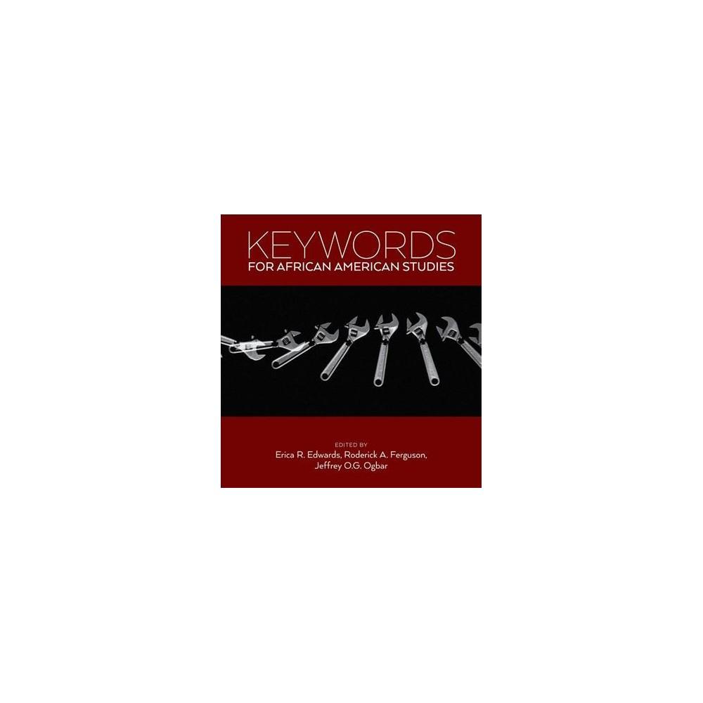 Keywords for African American Studies - (Keywords) (Paperback)