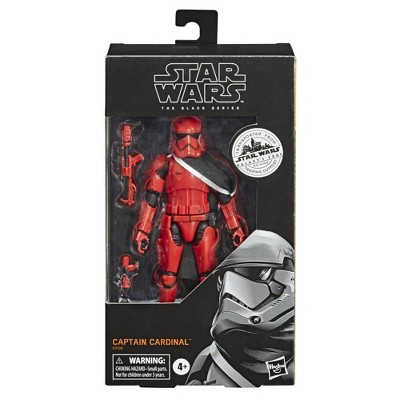 Star Wars The Black Series Captain Cardinal Toy Figure