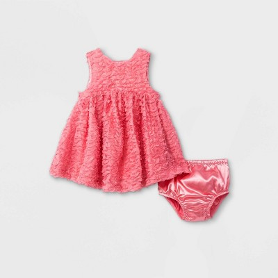 Baby Girls' Elevated Dress - Cat & Jack™ Pink