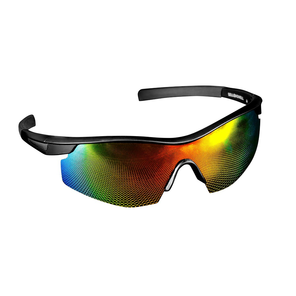 Image of As Seen on TV Bell + Howell Tac Glasses Polarized Military Inspired Sporting Sunglasses, Adult Unisex, Black/Blue/Red