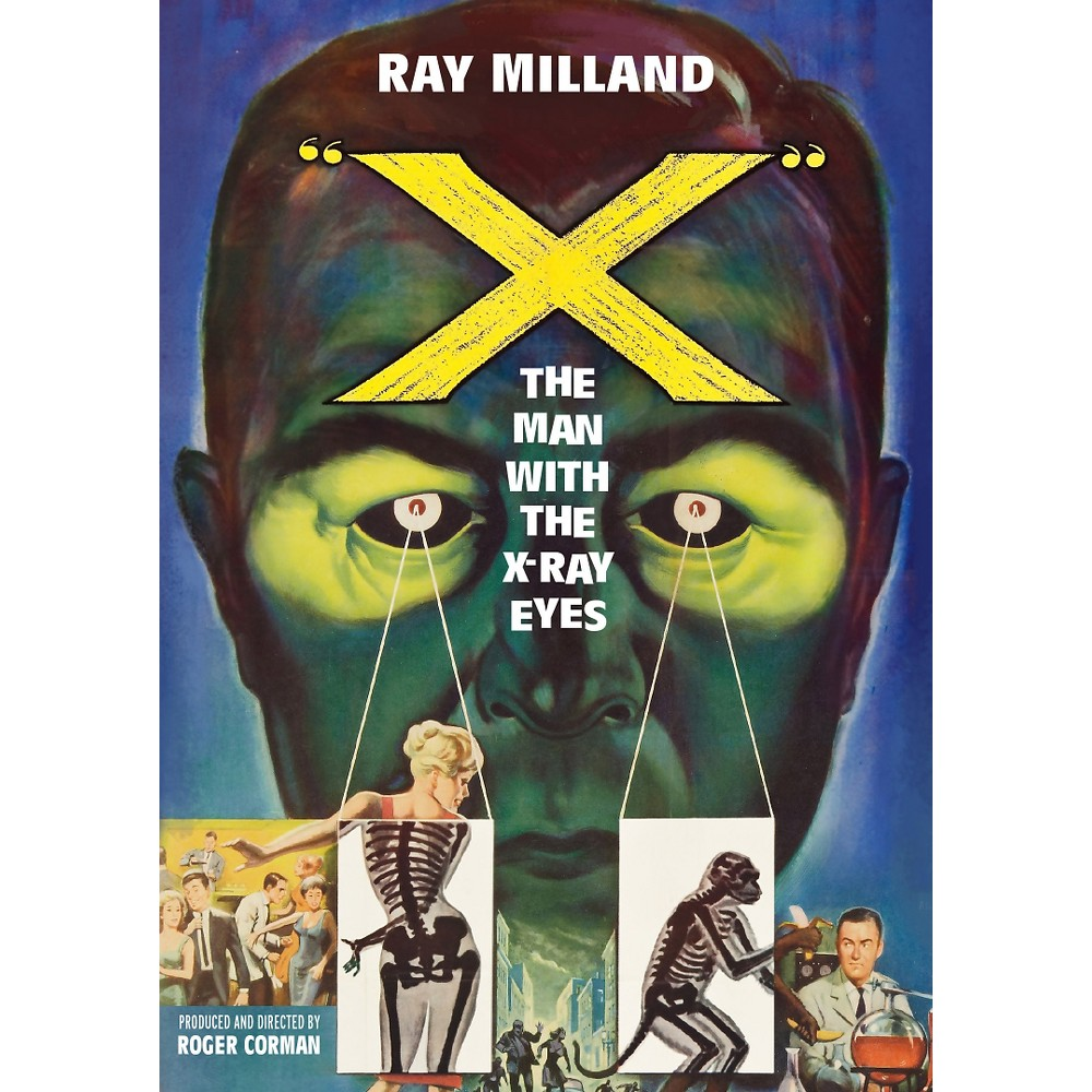 X:Man With The X Ray Eyes (Dvd)