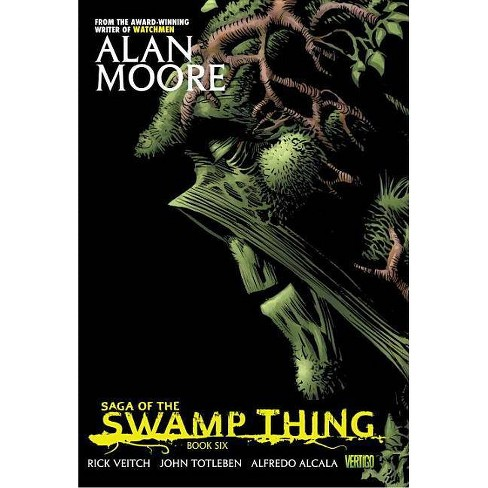Saga of the Swamp Thing Book Six - by  Alan Moore (Paperback) - image 1 of 1