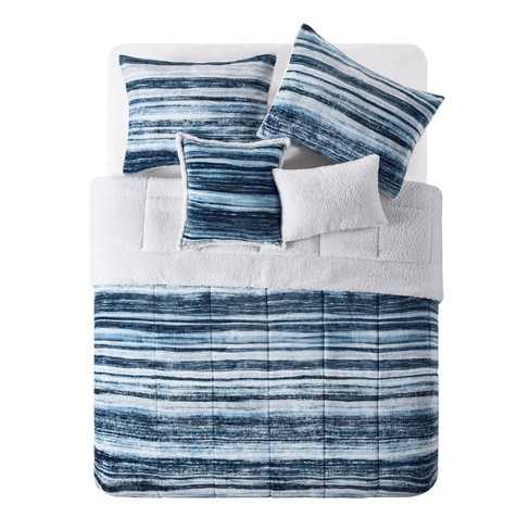 Bransen Plush/Sherpa Reversible Comforter - VCNY HOME - image 1 of 2