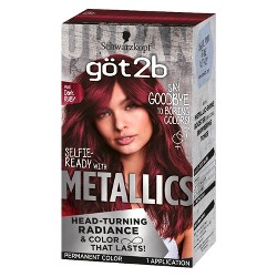Got2b Color Metallic Dark Ruby - 1 kit