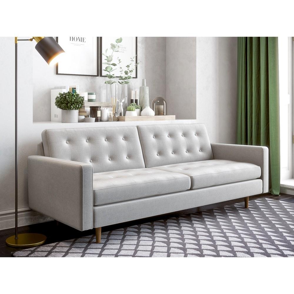 Ida Modern Sofa Heather Gray - AF Lifestlye