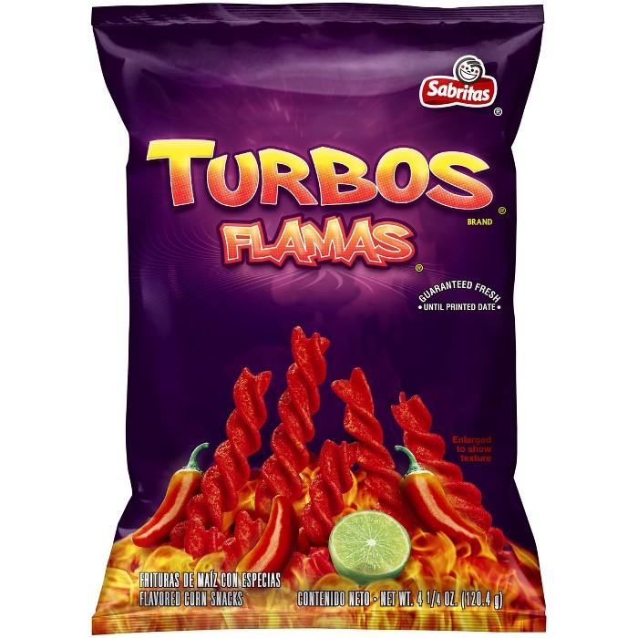 Sabritas Turbos Flamas Corn Chips - 4.25oz - image 1 of 3