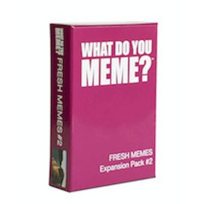 What Do You Meme? Fresh Memes Game Expansion Pack #2