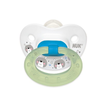 NUK Day to Night 2pk Baby Pacifier - Blue