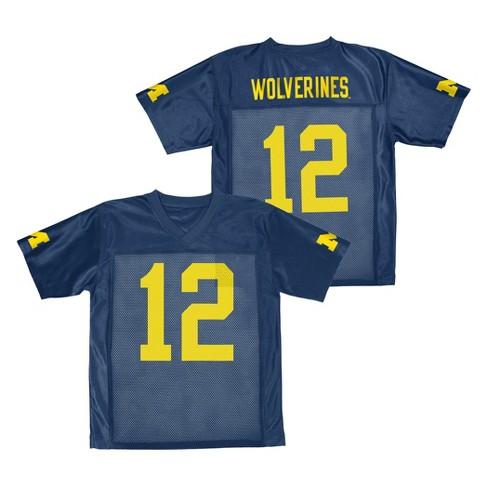 Michigan Wolverines Boys  Jersey Navy XS   Target 18d3be2c7