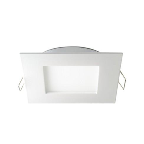 "DALS Lighting 7004-SQ4K Pro Series 4"" Square LED Recessed Fixture - 4000K & 640 Lumens - image 1 of 1"
