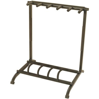 On-Stage Stands Foldable Multi Guitar Rack, 5-Space