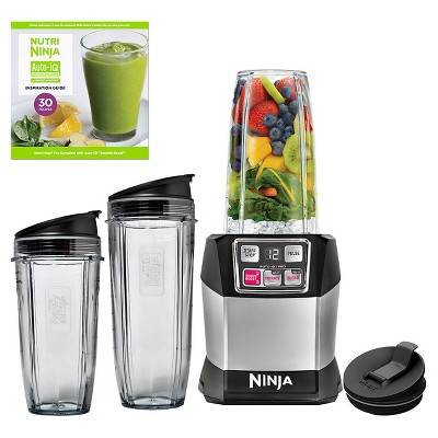 Nutri Ninja® Auto iQ™ Pro Complete Personal Blender/Extractor - BL487T