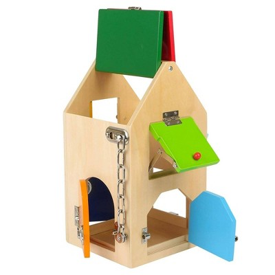 Small Foot Wooden Toys Big House Of Locks Playset